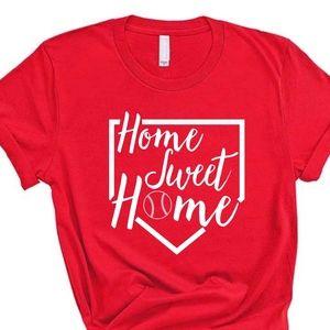 Gildan - Home Sweet Home Baseball shirt